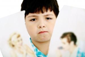 Parentification happening after parents go through a divorce.