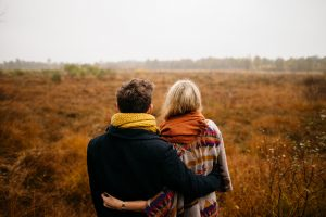 A couple working through how to overcome codependency,.
