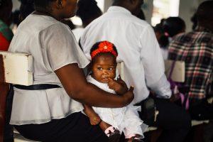 Mother overcoming postpartum depression.