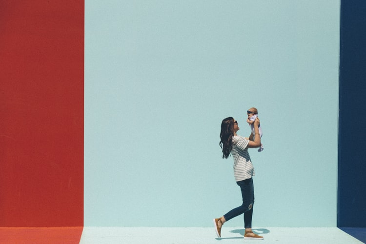 Women overcoming postpartum struggles including postpartum depression and anxiety.